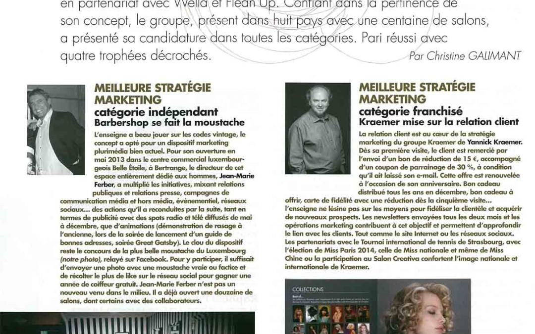 Coiffure de Paris juillet-août 2014