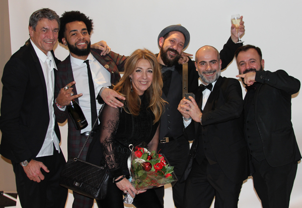 Ferber hair&style gagant Benelux aux Hairdressers Award